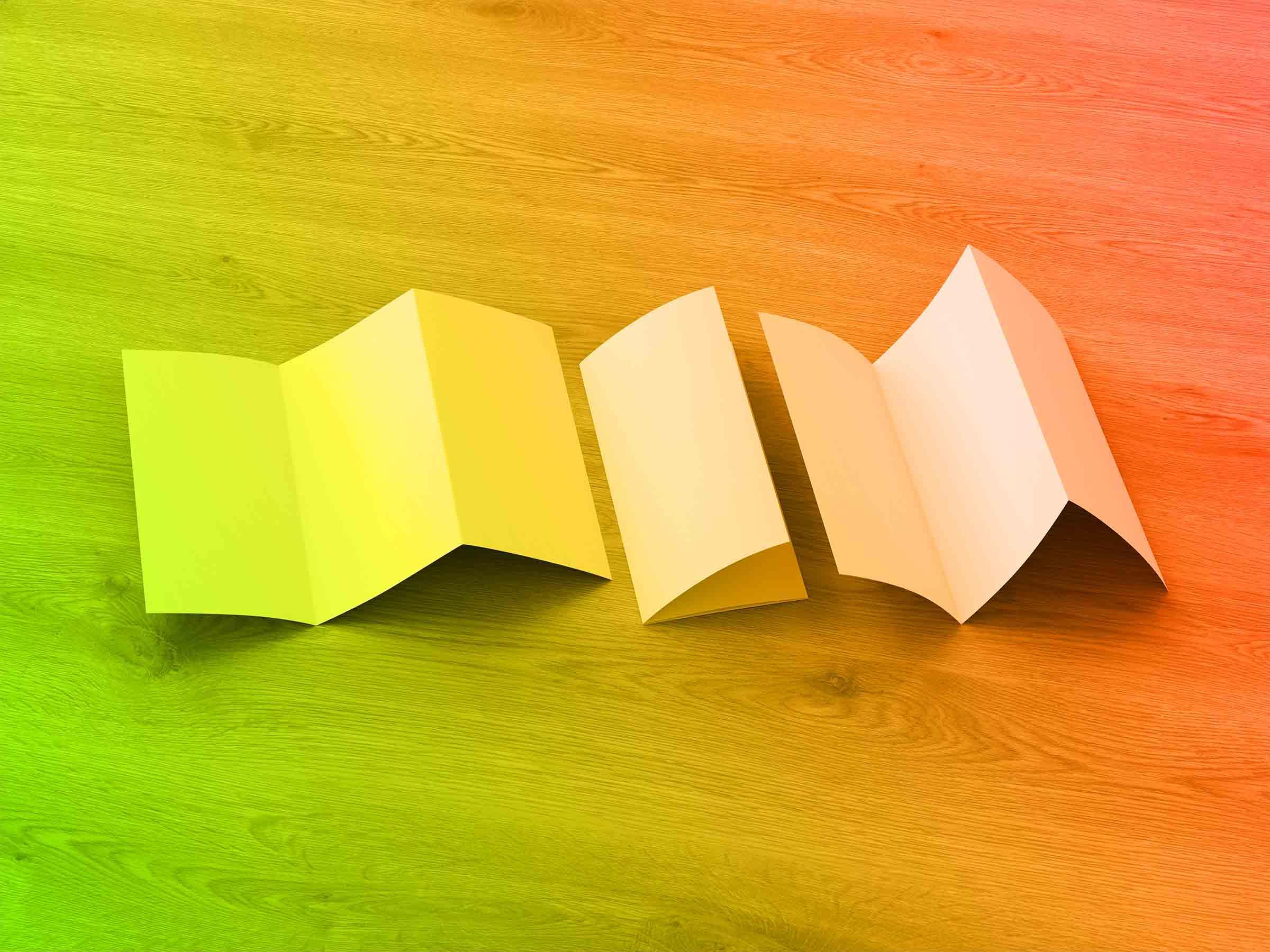 Types of Brochure Folds
